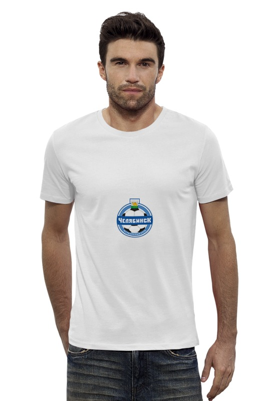 Футболка Wearcraft Premium Slim Fit Printio Фк челябинск
