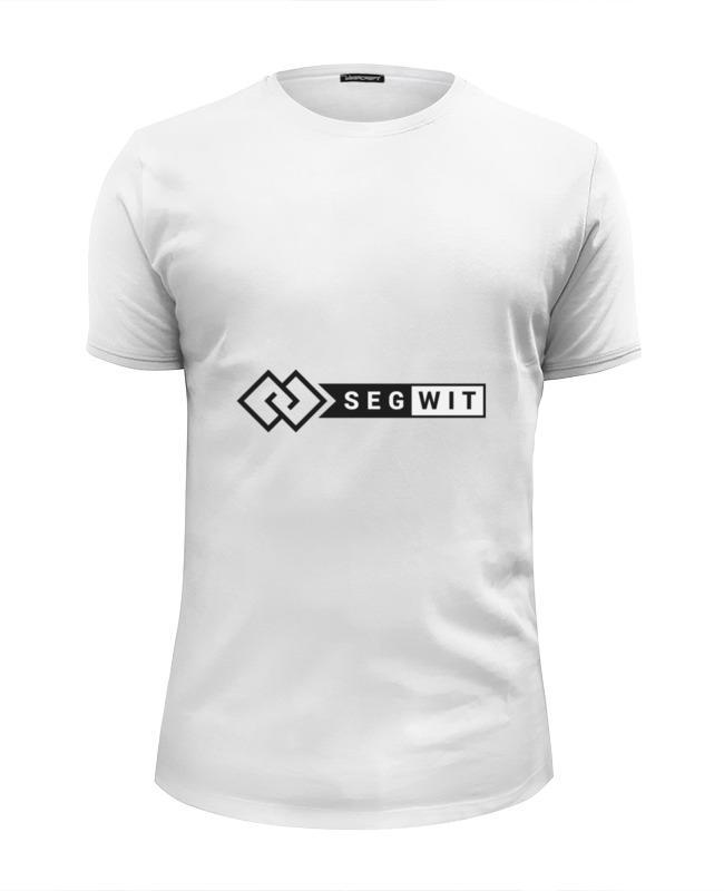 Футболка Wearcraft Premium Slim Fit Printio Segwit футболка wearcraft premium slim fit printio bitcoin