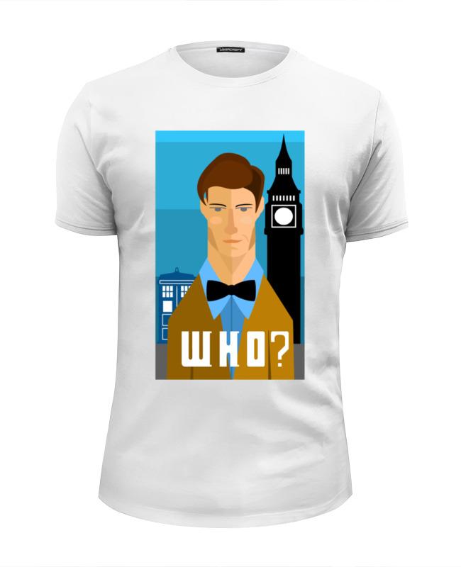 Футболка Wearcraft Premium Slim Fit Printio Доктор кто (doctor who) футболка wearcraft premium printio the who
