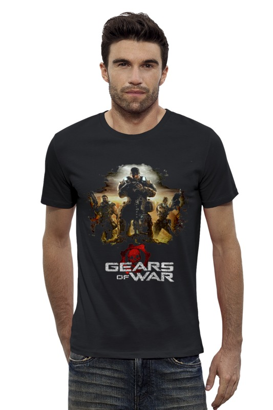 Футболка Wearcraft Premium Slim Fit Printio Gears of war 2 игра для xbox one microsoft gears of war ultimate edition 4v5 00022