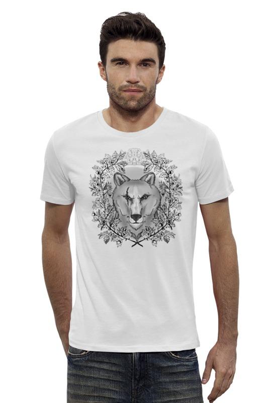 Футболка Wearcraft Premium Slim Fit Printio Тотем волк футболка для беременных printio олень тотем