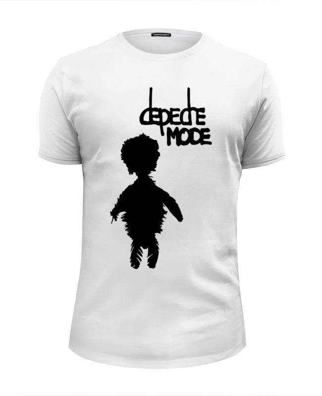 Футболка Wearcraft Premium Slim Fit Printio Depeche mode музыкальный сувенир кружка depeche mode группа лого