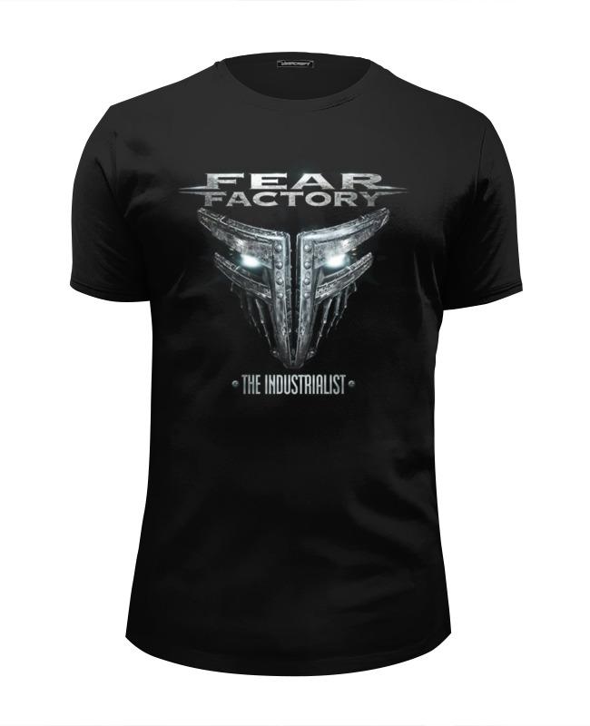 цена на Футболка Wearcraft Premium Slim Fit Printio Fear factory band