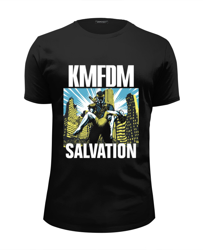 Футболка Wearcraft Premium Slim Fit Printio Kmfdm salvation