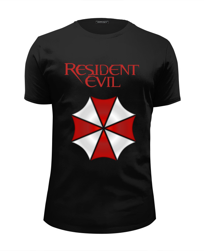 Футболка Wearcraft Premium Slim Fit Printio Resident evil футболка франшиза отзывы