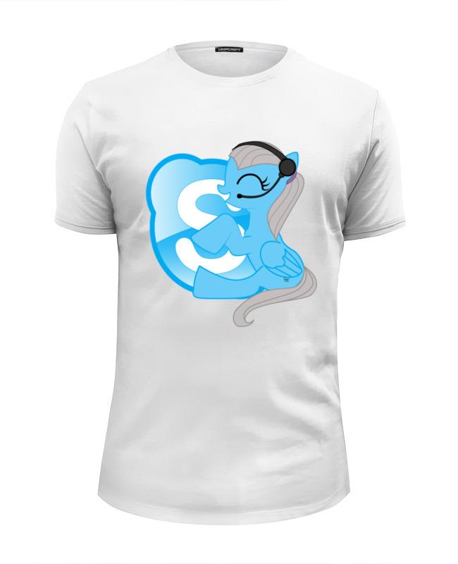 Футболка Wearcraft Premium Slim Fit Printio Pony-skype цена