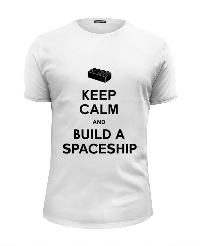 Футболка Wearcraft Premium Slim Fit Printio Строй корабль (лего)