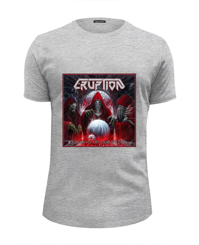 Printio Eruption - thrash metal band футболка wearcraft premium slim fit printio slayer thrash metal band