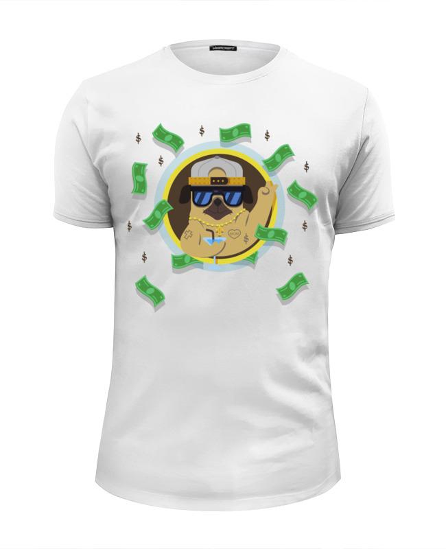 Printio Гангста мопс футболка wearcraft premium printio деловой мопс