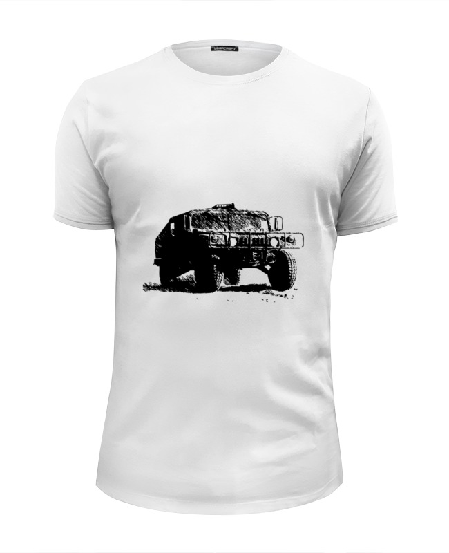 Футболка Wearcraft Premium Slim Fit Printio Hummer