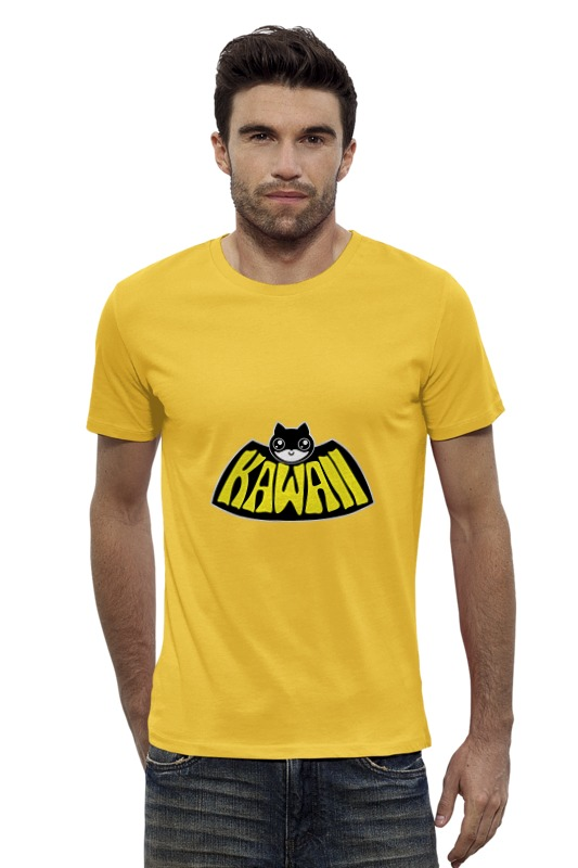 Футболка Wearcraft Premium Slim Fit Printio Kawaii x batman футболка wearcraft premium slim fit printio ice king x batman