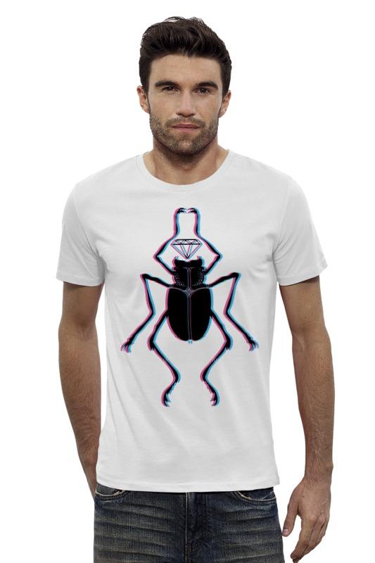 Футболка Wearcraft Premium Slim Fit Printio Жук и алмаз футболка классическая printio вольскваген жук