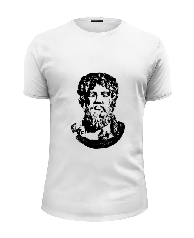 Футболка Wearcraft Premium Slim Fit Printio Зевс (zeus) футболка классическая printio dota 2 zeus