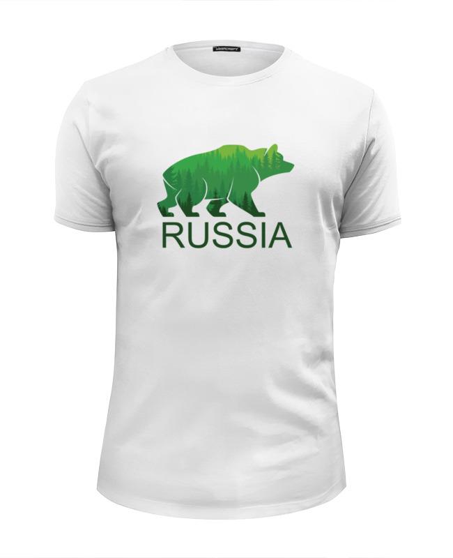 Футболка Wearcraft Premium Slim Fit Printio Россия, russia футболка wearcraft premium slim fit printio россия царская