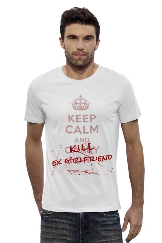 Футболка Wearcraft Premium Slim Fit Printio Kill ex girlfriend толстовка wearcraft premium унисекс printio kill