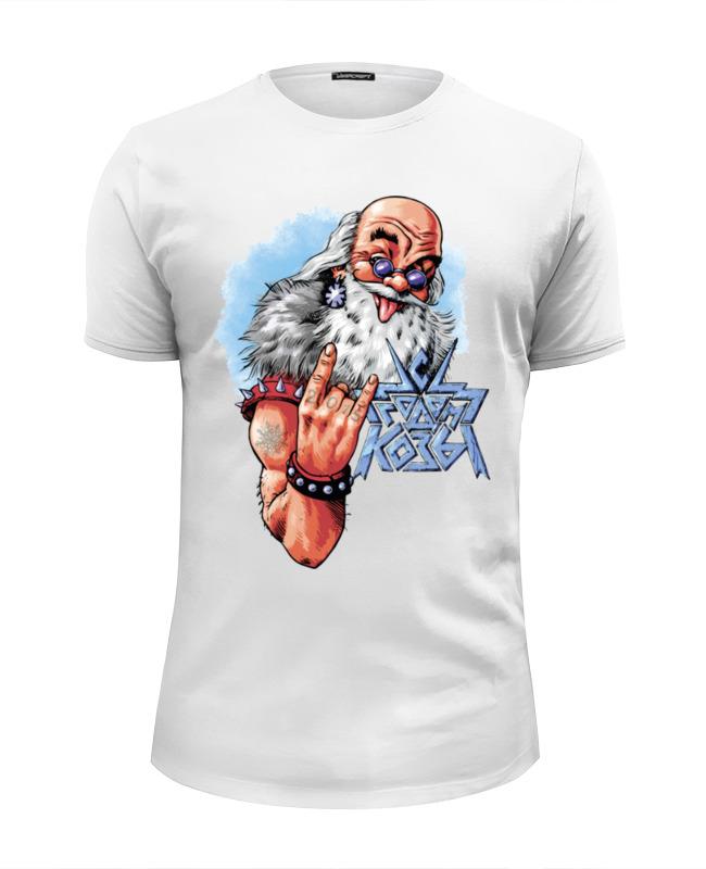 Футболка Wearcraft Premium Slim Fit Printio Новогодний принт 2015 – с годом козы! ostin футболка с новогодним принтом