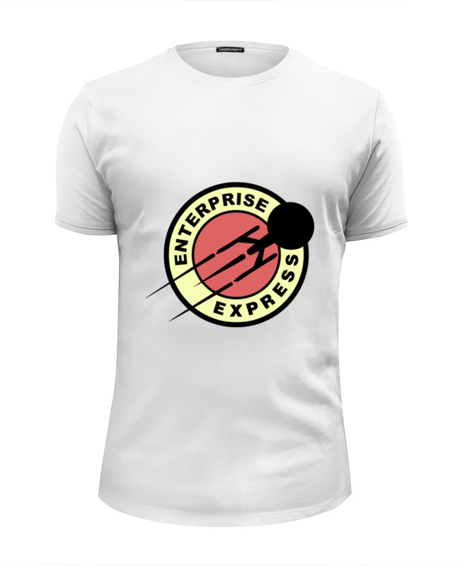 Футболка Wearcraft Premium Slim Fit Printio Энтерпрайз (звёздный путь) футболка wearcraft premium slim fit printio starborg звёздный путь