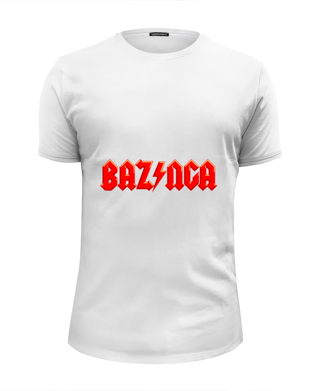Футболка Wearcraft Premium Slim Fit Printio Bazinga! (базинга)