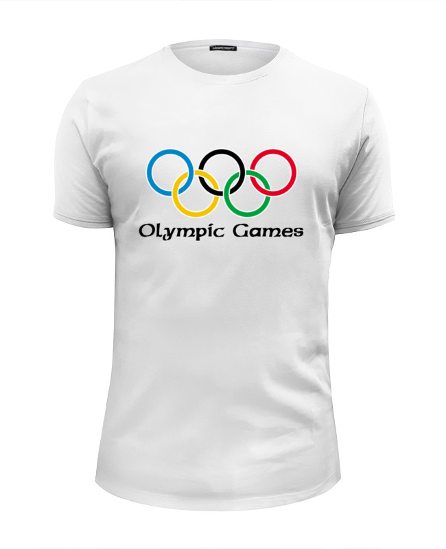 Футболка Wearcraft Premium Slim Fit Printio Olympic