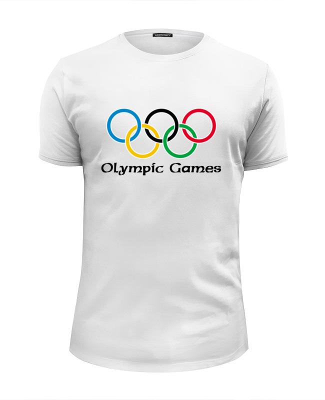 Футболка Wearcraft Premium Slim Fit Printio Olympic