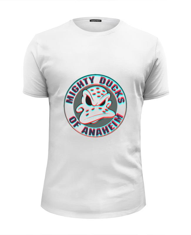 Футболка Wearcraft Premium Slim Fit Printio Анахайм дакс футболка wearcraft premium slim fit printio anaheim ducks