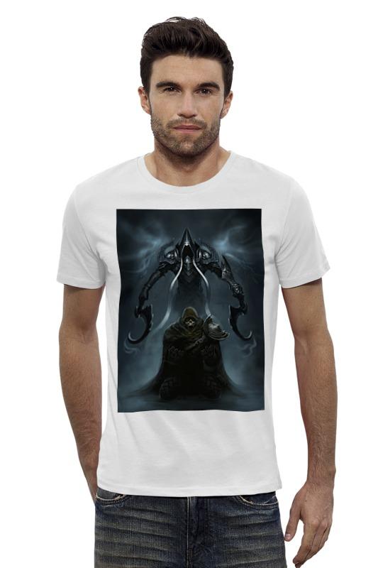Футболка Wearcraft Premium Slim Fit Printio Diablo iii видеоигра для pc diablo iii reaper of souls дополнение