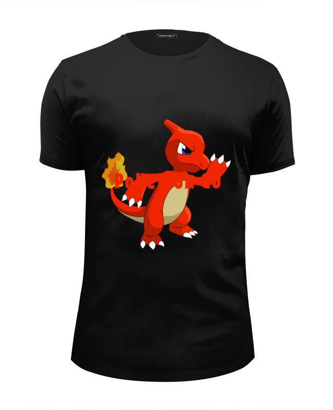 Футболка Wearcraft Premium Slim Fit Printio Pokemon charmeleon футболка wearcraft premium slim fit printio огненный шар