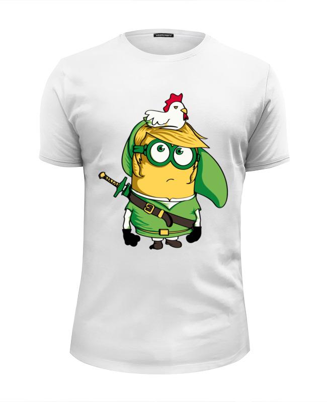 Printio Миньон-линк футболка wearcraft premium slim fit printio постапокалиптический