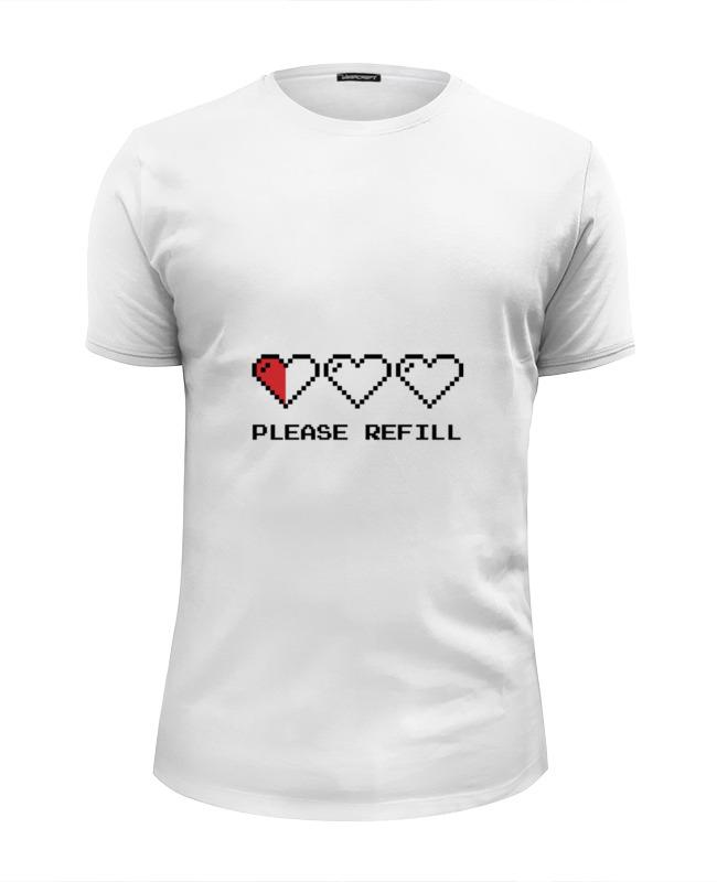 Футболка Wearcraft Premium Slim Fit Printio Пиксельные сердца (8-бит) футболка print bar пиксельные единороги