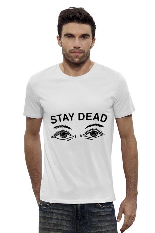 Футболка Wearcraft Premium Slim Fit Printio Stay dead футболка wearcraft premium slim fit printio bring me the horizon молитва