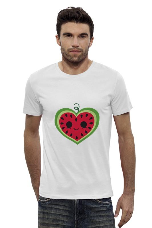 Футболка Wearcraft Premium Slim Fit Printio Арбузик printio футболка wearcraft premium slim fit