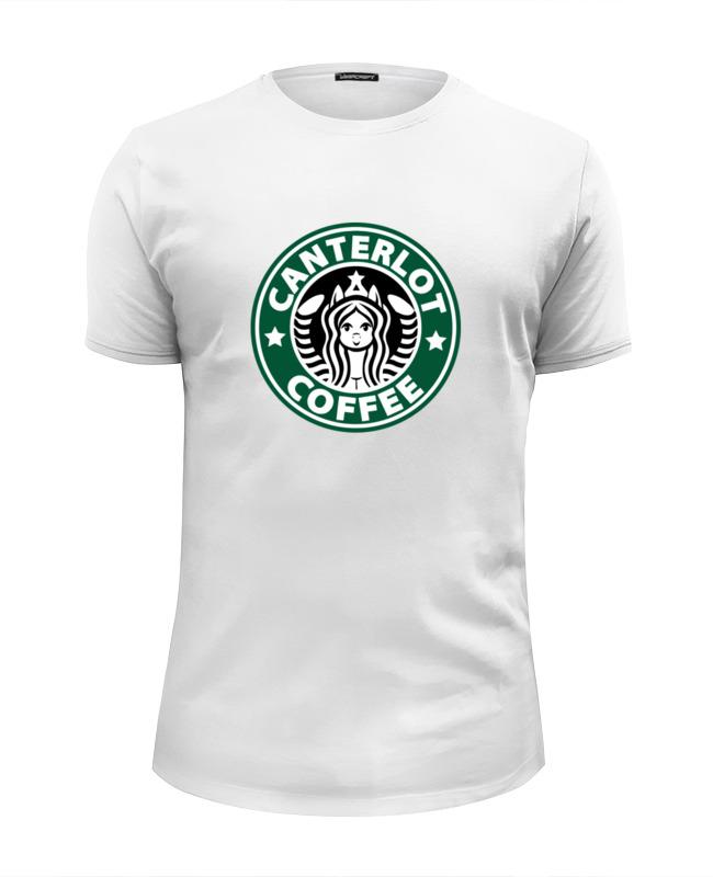 Футболка Wearcraft Premium Slim Fit Printio Canterlot coffee (starbucks x luna) сумка printio starbucks coffee