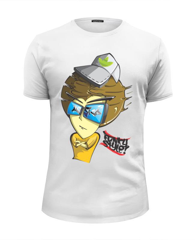 Футболка Wearcraft Premium Slim Fit Printio Funky man футболка funky staff