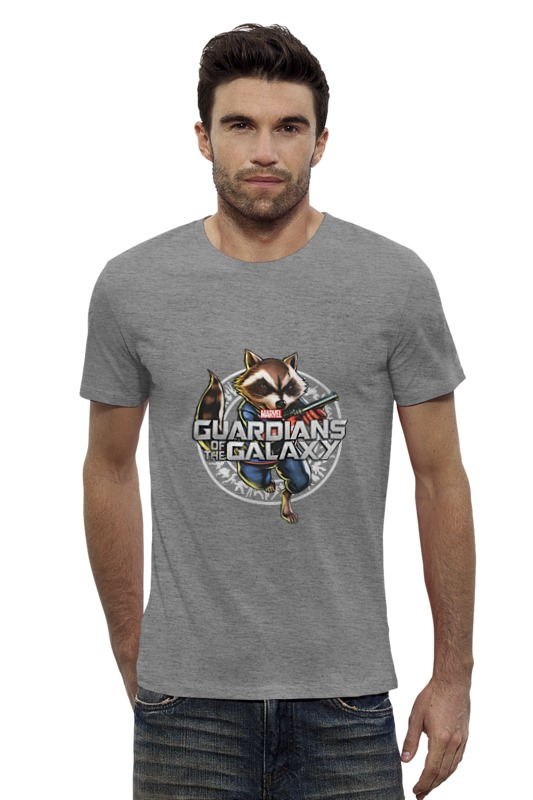 Футболка Wearcraft Premium Slim Fit Printio Guardians of the galaxy (1) guardians of the galaxy new guard vol 3