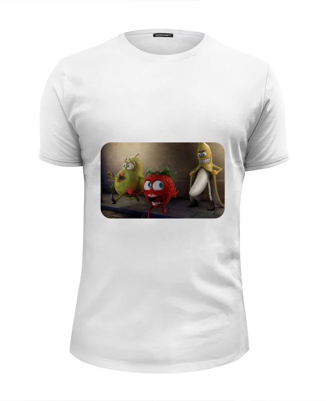 Футболка Wearcraft Premium Slim Fit Printio Чудо-фрукты) футболка wearcraft premium printio фрукты