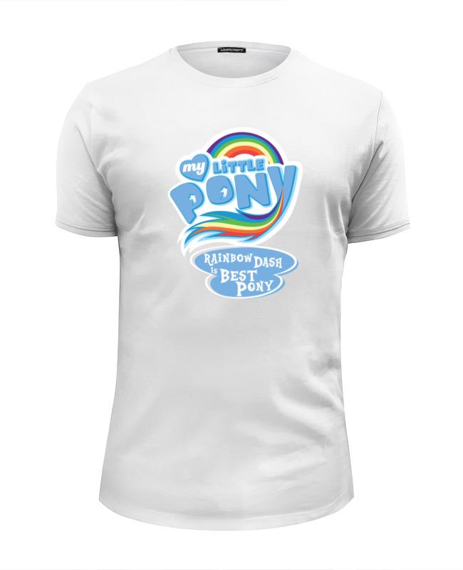Футболка Wearcraft Premium Slim Fit Printio Rainbow dash best футболка wearcraft premium slim fit printio rainbow dash loyalty