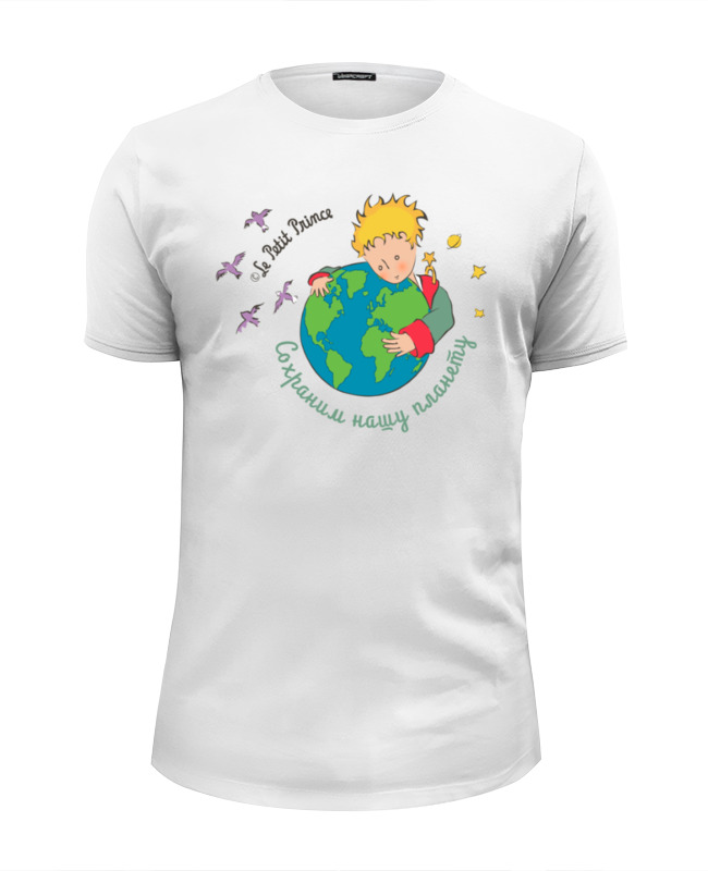 Футболка Wearcraft Premium Slim Fit Printio Маленький принц le petit prince футболка wearcraft premium printio маленький принц le petit prince