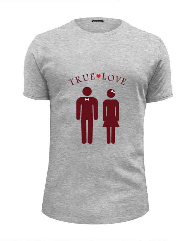 Футболка Wearcraft Premium Slim Fit Printio Изображение влюбленной пары .
