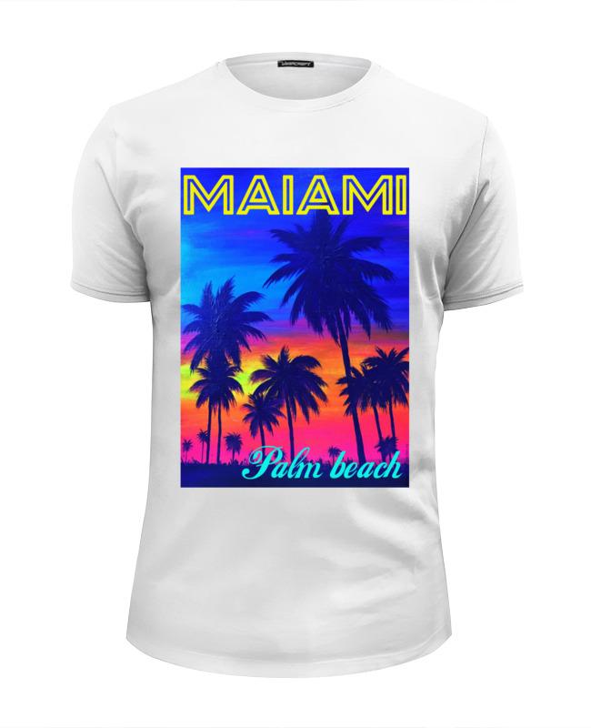 Футболка Wearcraft Premium Slim Fit Printio Maiami palm maiami свитер page 2