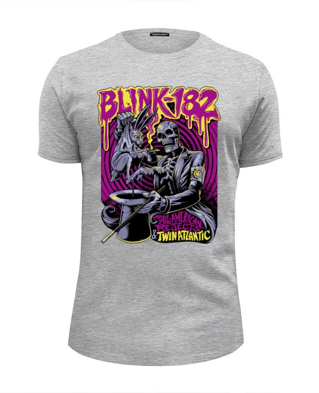 цена на Футболка Wearcraft Premium Slim Fit Printio Blink-182 band