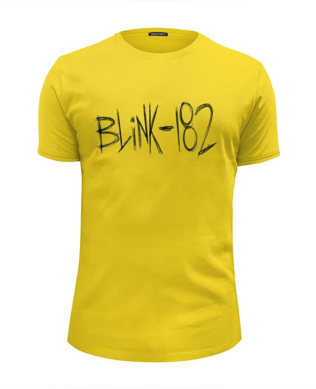 Футболка Wearcraft Premium Slim Fit Printio Blink-182 yellow logo футболка wearcraft premium slim fit printio blink 182 smile