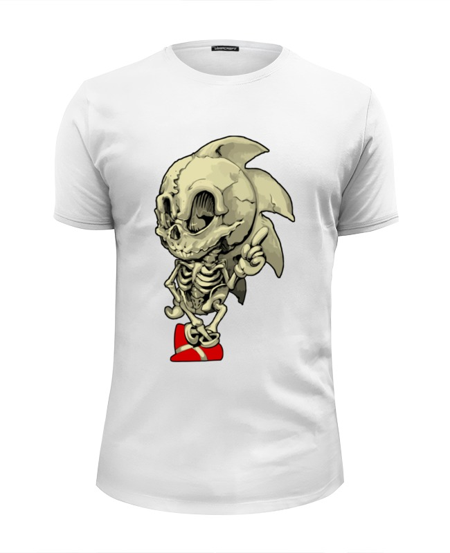 Футболка Wearcraft Premium Slim Fit Printio Sonic skeleton футболка wearcraft premium slim fit printio holy skeleton