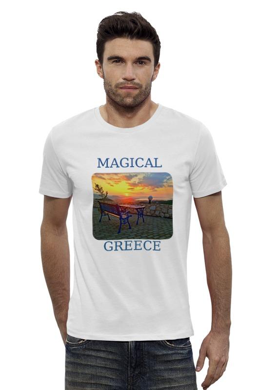 Футболка Wearcraft Premium Slim Fit Printio Магическая греция белье gezanne шорты магическая волна l