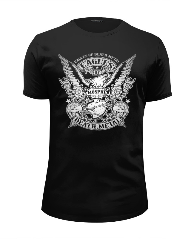 Футболка Wearcraft Premium Slim Fit Printio Eagles of death metal