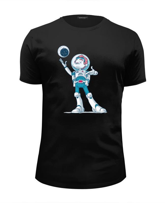 Футболка Wearcraft Premium Slim Fit Printio Astroboy / астронавт телескоп ioptron astroboy оранжевый