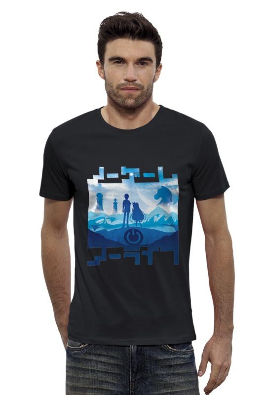 Футболка Wearcraft Premium Slim Fit Printio No game no life футболка wearcraft premium slim fit printio нет проблем no prob llama