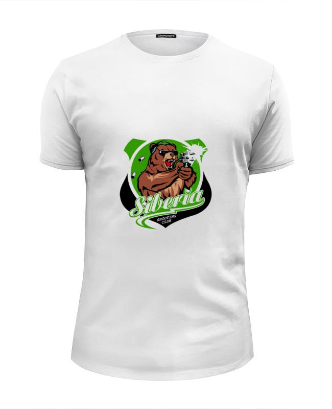 Футболка Wearcraft Premium Slim Fit Printio Сибирь футболка это мать сибирь