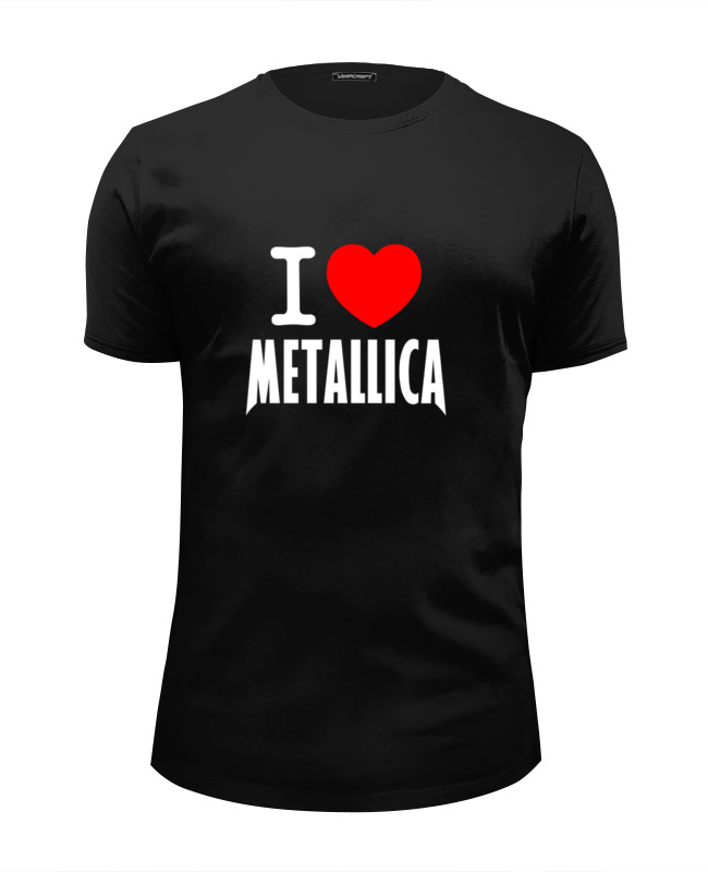 Футболка Wearcraft Premium Slim Fit Printio «i love metallica» футболка wearcraft premium slim fit printio i love ny