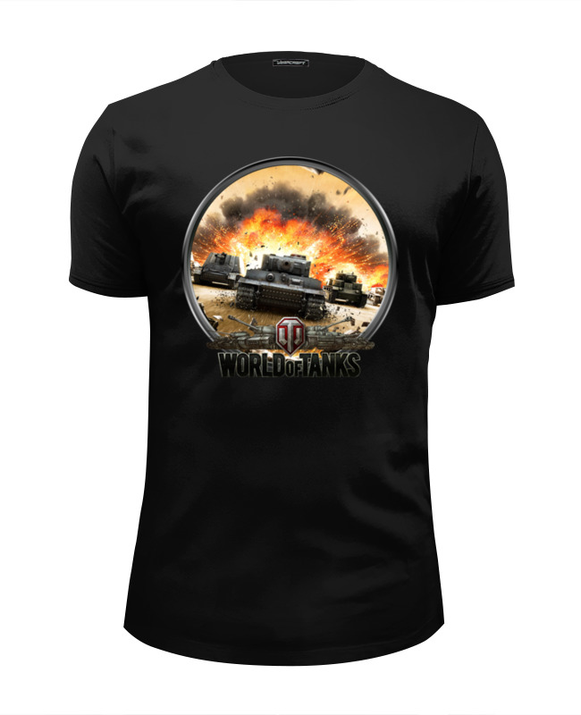 Футболка Wearcraft Premium Slim Fit Printio World of tanks футболка wearcraft premium printio world of tanks 26