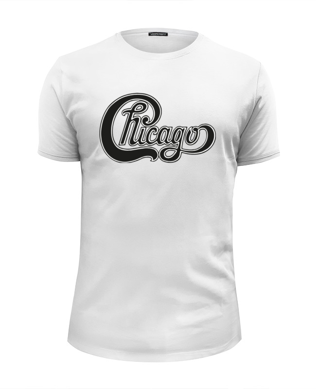 Футболка Wearcraft Premium Slim Fit Printio Chicago (чикаго) футболка print bar chicago blackhawks